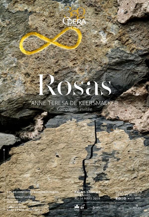 Compagnie Rosas - Anne Teresa de Keersmaeker à l'Opéra Garnier