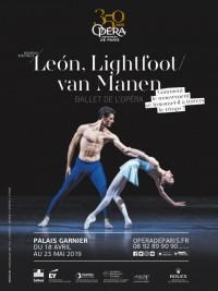 León, Lightfoot / Van Manen à l'Opéra Garnier