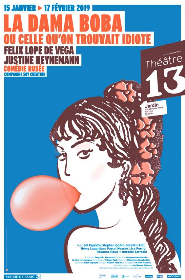 La Dama Boba ou celle qu'on trouvait idiote au Théâtre 13