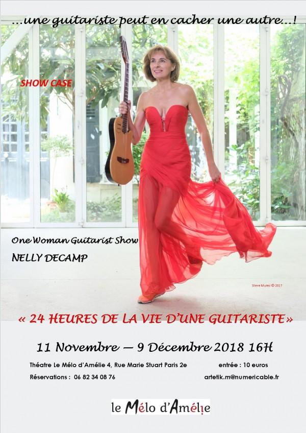 24 Heures de la vie d'une guitariste au Théâtre Mélo d'Amélie