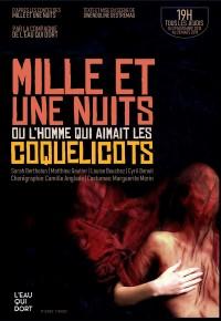 Mille et une nuits ou l'homme qui aimait les coquelicots au Guichet-Montparnasse