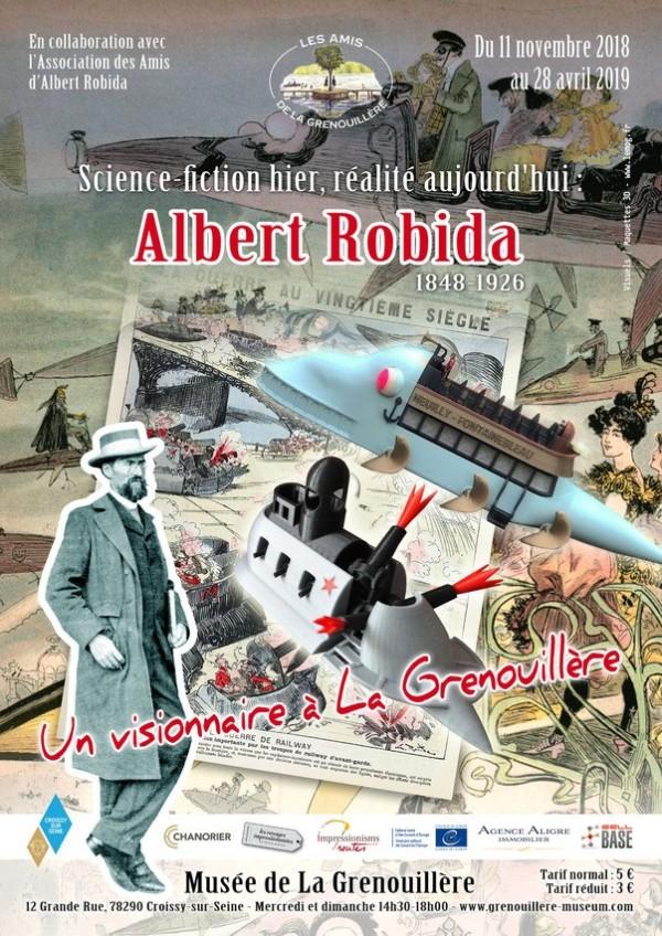 Science-fiction hier, réalité aujourd'hui : Albert Robida, un visionnaire à la Grenouillère au Musée de la Grenouillère