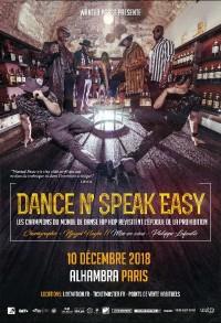 Dance N' Speak Easy à l'Alhambra