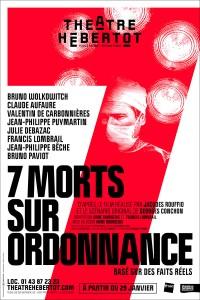 7 morts sur ordonnance au Théâtre Hébertot