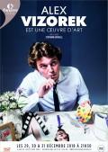 Alex Vizorek est une œuvre d'art au Théâtre de l'Œuvre