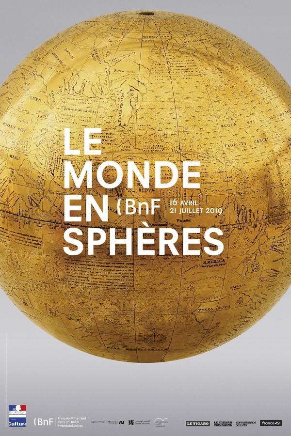 Le Monde en sphères à la Bibliothèque nationale de France - site François-Mitterrand