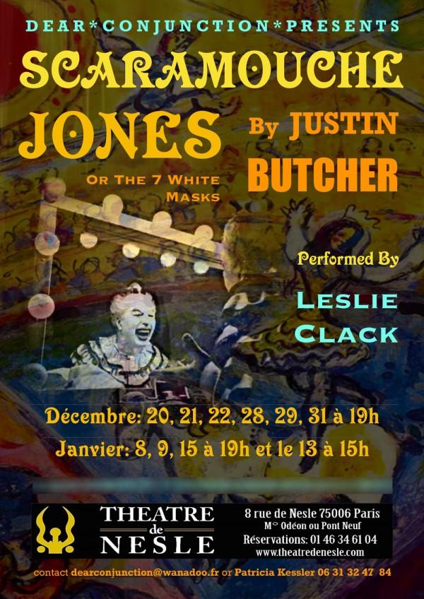 Scaramouche Jones au Théâtre de Nesle