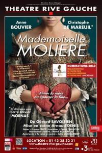 Mademoiselle Molière au Théâtre Rive Gauche