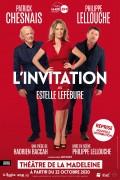 L'Invitation au Théâtre de la Madeleine - Octobre 2020