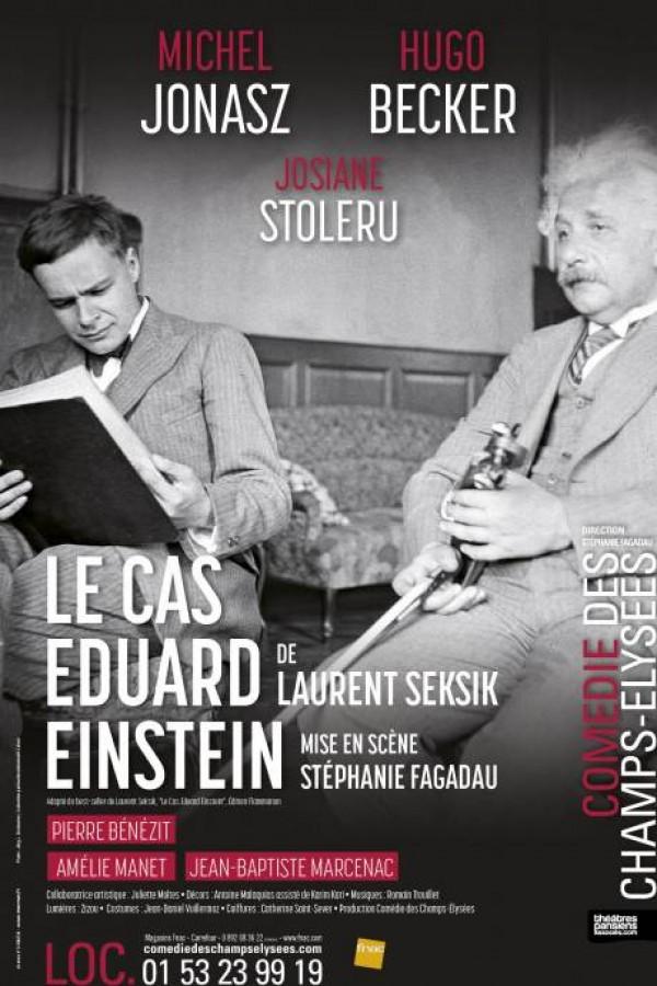 Le Cas Eduard Einstein à la Comédie des Champs-Élysées
