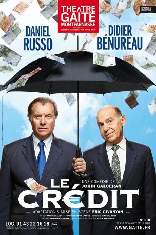 Le Crédit au Théâtre de la Gaîté-Montparnasse