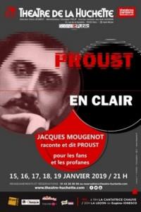 Proust en clair au Théâtre de la Huchette