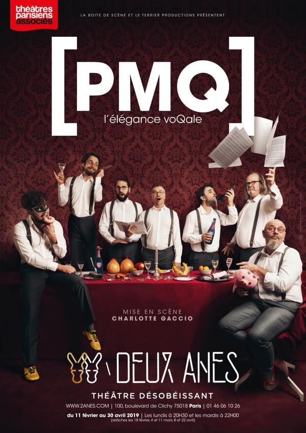 PMQ - L'élégance voQale au Théâtre des Deux Ânes