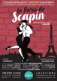 Le Paris de Scapin au Théâtre Clavel