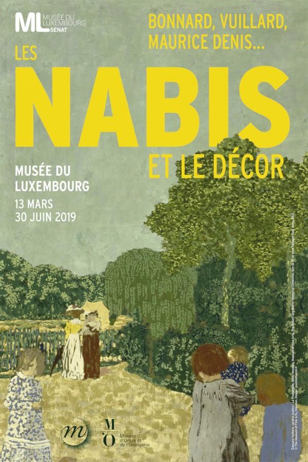 Les Nabis et le décor au Musée du Luxembourg