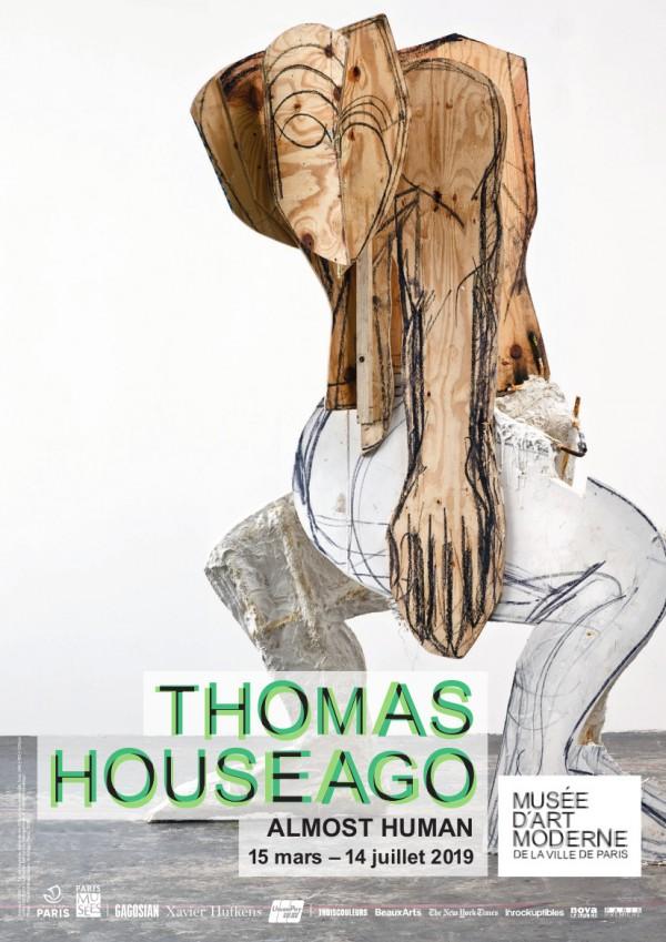 Thomas Houseago, Almost human au Musée d'art moderne