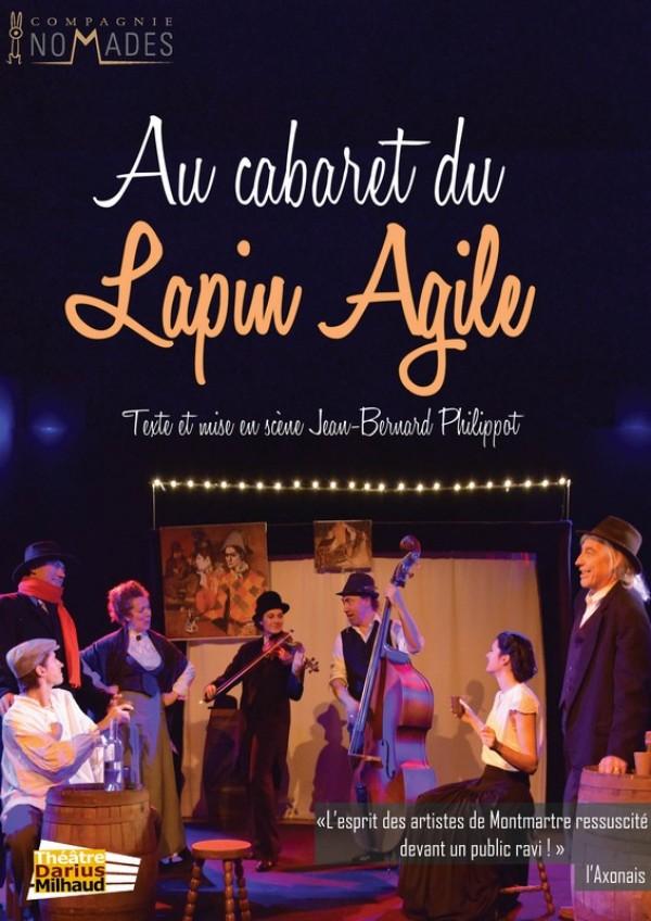 Au Cabaret du lapin agile au Théâtre Darius Milhaud