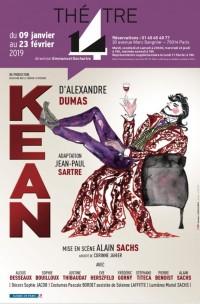 Kean au Théâtre 14 - Jean-Marie-Serreau