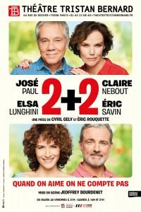 2 + 2 au Théâtre Tristan-Bernard