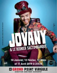 Jovany & le dernier saltimbanque au Grand Point Virgule