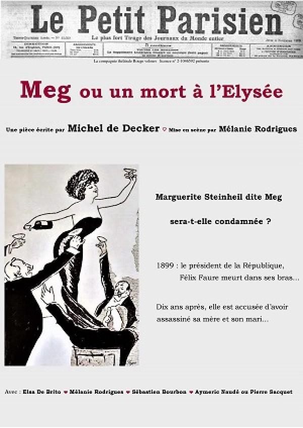 Meg ou un mort à l'Élysée au Guichet-Montparnasse