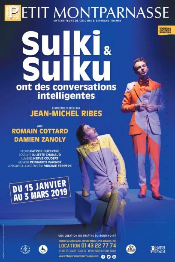 Sulki et Sulku ont des conversations intelligentes au Théâtre Montparnasse