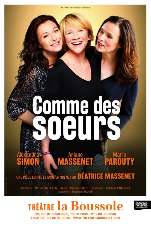 Comme des sœurs au Théâtre La Boussole
