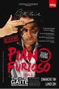 Gilles Ramade : Piano Furioso 2 au Théâtre de la Gaîté-Montparnasse