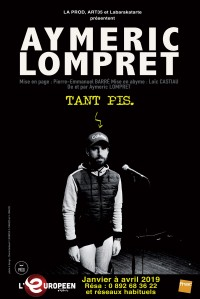 Aymeric Lompret : Tant pis à l'Européen