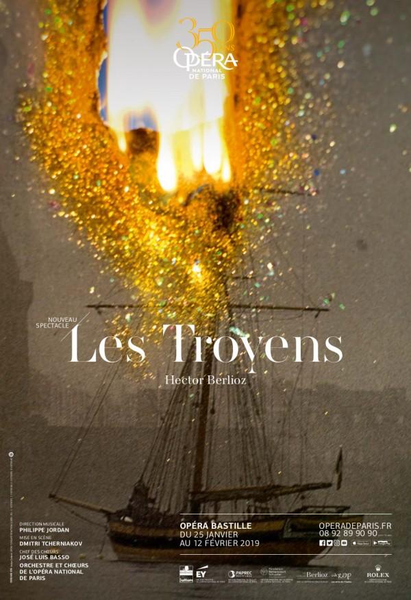 Les Troyens à l'Opéra Bastille