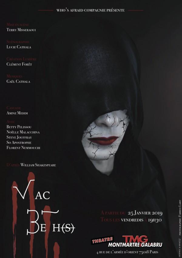 Macbeth au Théâtre Montmartre Galabru