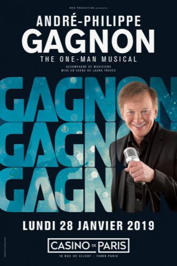 André-Philippe Gagnon : The one-man musical au Casino de Paris