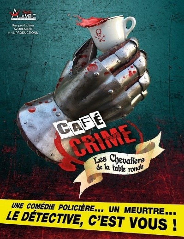 Café crime au Théâtre Alambic Comédie