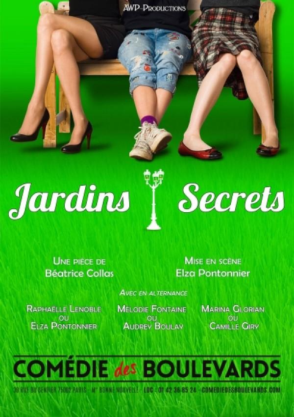 Jardins secrets à la Comédie des Boulevards