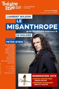 Le Misanthrope au Théâtre Libre - Molières 2019