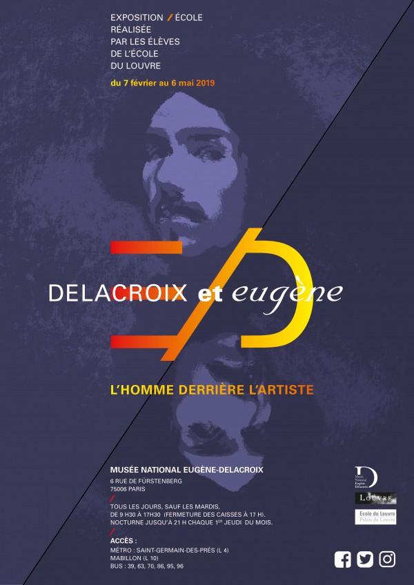 Delacroix et Eugène : L'homme derrière l'artiste au Musée Delacroix
