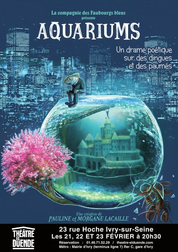 Aquariums au Théâtre El Duende