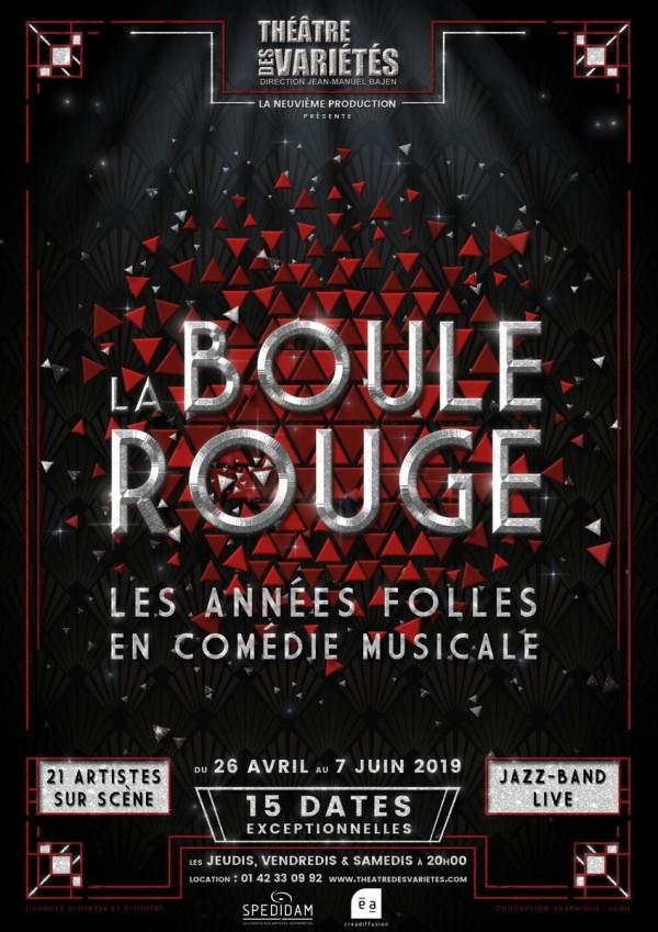 La Boule rouge au Théâtre des Variétés