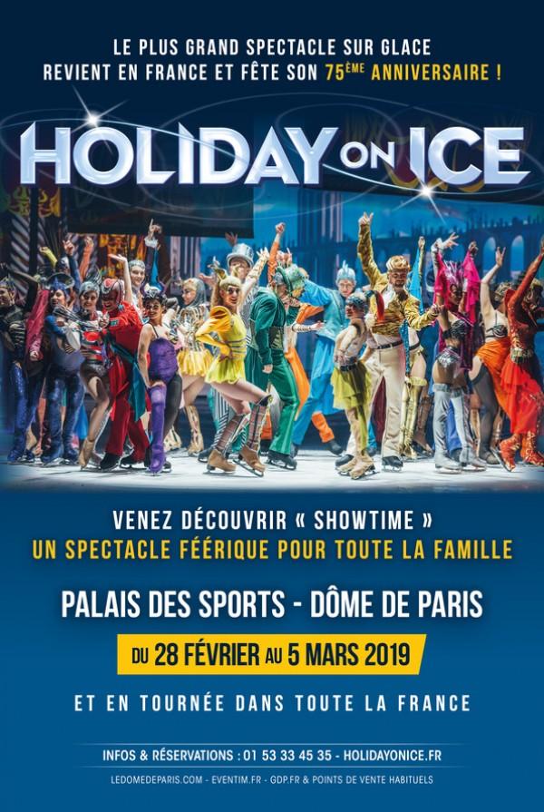 Holiday on Ice : Showtime au Dôme de Paris