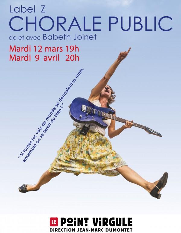 Chorale Public au Point Virgule