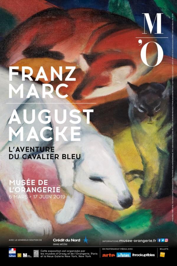 Franz Marc / August Macke — L'aventure du Cavalier bleu au Musée de l'Orangerie