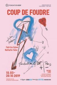 Fabrice Hyber & Nathalie Talec : Coup de foudre à l'Espace Fondation EDF