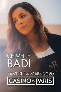 Chimène Badi au Casino de Paris