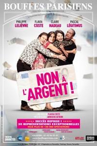 Non à l'argent ! au Théâtre des Bouffes Parisiens