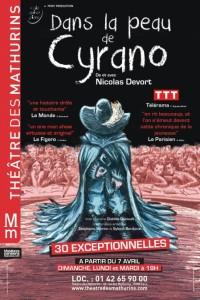 Dans la peau de Cyrano au Théâtre des Mathurins