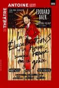 Affiche Les Élucubrations d'un homme soudain frappé par la grâce au Théâtre Antoine