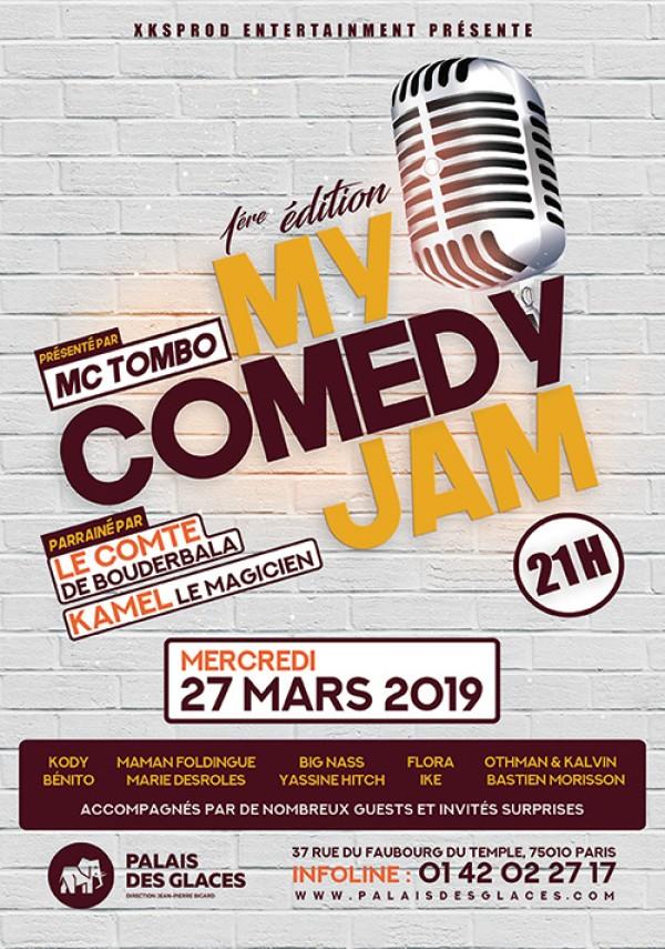 My Comedy Jam au Palais des Glaces
