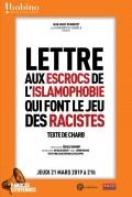 Lettre aux escrocs de l'islamophobie qui font le jeu des racistes à Bobino