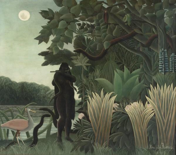 Henri Rousseau (1844-1910) La Charmeuse de serpents, 1907 Huile sur toile, 167 × 189,5 cm
