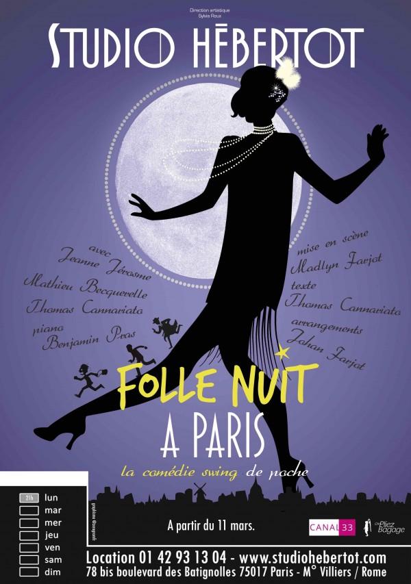 Folle nuit à Paris au Studio Hébertot